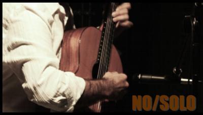 NO/SOLO (II) -músicas para guitarra